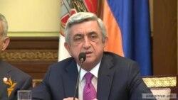 Սերժ Սարգսյանը վստահ է, որ Գալուստ Սահակյանը «օգուտ կբերի» երկրին