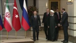 Putin, Rohani In Ankara For Syria Talks With Erdogan