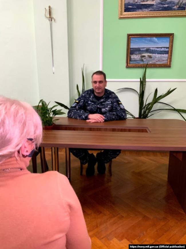 Контрадмірал Олексій Неїжпапа