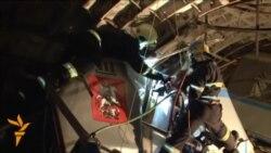 Operacioni i shpëtimit në metronë në Moskë