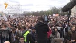 Болотная майдонида намойиш: Борис Немцов