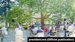 Conferința de presă de la reședinția prezidențială de la Condrița, 24 iulie, 2020