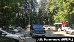 Переполненная парковка
