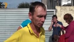 Сочи. Рабочий из Оренбурга Роман Кузнецов