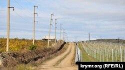 Прокладка водопровода из Кадыковского карьера, Севастополь