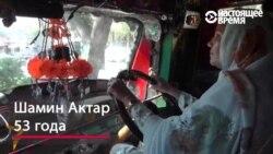 Первая в Пакистане женщина-водитель грузовика