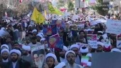 Прихильники уряду Ірану вийшли на вулиці на тлі антиурядових протестів (відео)