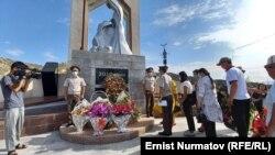 Топурак-Бел ашуусундагы монументтеги иш-чара. 12-июнь, 2021-жыл.