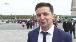 Зеленський розповів про зустріч із Макроном – відео