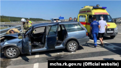 ДТП на трассе «Таврида» в Крыму, 31 августа 2021 год