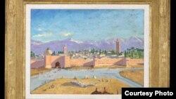 Продане полотно – єдина з понад 500 картин Черчилля, написана під час Другої світової війни.