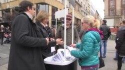 Campanie pentru libertatea presei la Belgrad