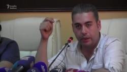 Vaan Martirosyan Bakıda Ermənistan haqda danışır