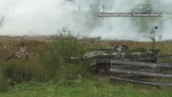 Спільний «бій» українських і натовських військовослужбовців на Rapid Trident-2021 (відео)