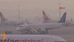 В стамбульском аэропорту произошел взрыв