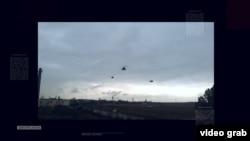 Російські вертольоти над Кримом, березень 2014 року