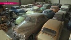 Алма-атинец - хозяин крутой коллекции советских автомобилей