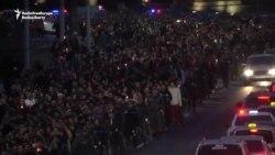 Armenians March To Honor Nagorno-Karabakh Dead