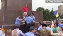 У Харкові побилися проукраїнські активісти з прибічниками антимайдану