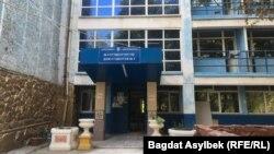 Қазақ ұлттық университеті жатақханаларының бірі. Алматы, 18 қыркүйек 2021 жыл.