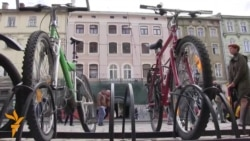 Lviv Gets Ukraine's First Bike-Sharing Scheme