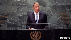 Președintele Klaus Iohannis a spus în discursul său de la Adunarea Generală a ONU că pandemia de COVID-19 ne-a schimbat fundamental modul de viaţă
