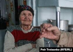 Жительница села Долматово Антонина Коломейцева. Северо-Казахстанская область, 21 декабря 2020 года.