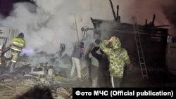 Пожар в доме престарелых в Башкортостане 15 декабря