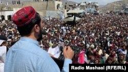 منظور پشتین، رهبر جنبش تحفظ پشتون