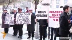 Հացադուլը շարունակող ցմահ ազատազրկվածների հարազատները շարունակում են բողոքել