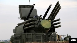 """Руска система за противовъздушна отбрана """"Панцир-С1"""""""