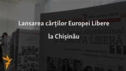 Radio Europa Liberă își lansează aparițiile anuale de carte la Chișinău