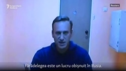 "Navalnîi: ""Nu vom admite niciodată să ne fie furată țara"""
