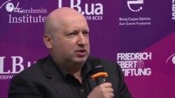 Турчинов: Росія зосередила проти України кілька армій, єдиний вихід – збільшувати обороноздатність (відео)