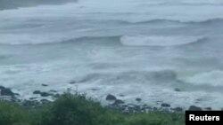 Tajfun Bavi, Južna Koreja, 26. avgust, 2020.