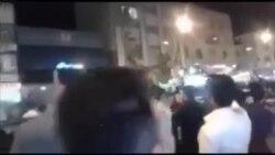 تظاهرات در شهر اهواز در اعتراض به حمله شهرداری به دستفروشان
