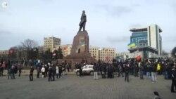 У Харкові пам'ятник Леніну охоронятимуть і вдень, і вночі