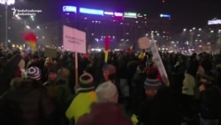 Anticorruption Protests Continue In Romania