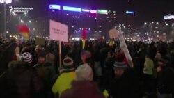 Anticorruption Protests Continue In Romania