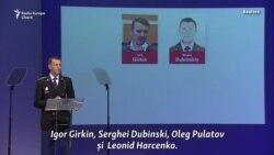 MH17: anchetatorii dezvăluie numele a patru suspecţi