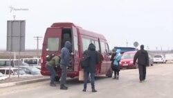 На Новий рік – на материк: кримчани на КПВВ «Каланчак» (відео)
