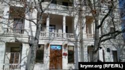 Фасад исторического здания бывшей гостиницы «Киста»