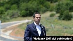 Министерот за транспорт и врски Благој Бочварски