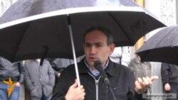 Հովհաննիսյանին ստվերային կառավարության ցուցակ ներկայացվեց