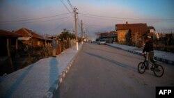 Село Долни Цибър. Снимката е от 24 март 2021 г.