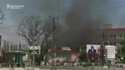 Attackers Storm Afghan State TV Building
