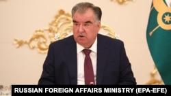 Tajik President Emomali Rahmon (file photo)