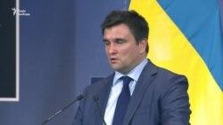 Ми отримали від НАТО дуже чіткий і сильний сигнал солідарності з Україною – Клімкін (відео)