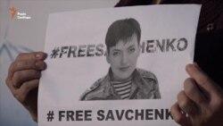 У Запоріжжі відбулася акція на підтримку Надії Савченко (відео)
