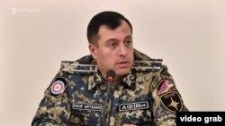 Armenia - Boris Avagian speaks during a public discussion held in the Armenian pariament, Yerevan, April 19, 2021.